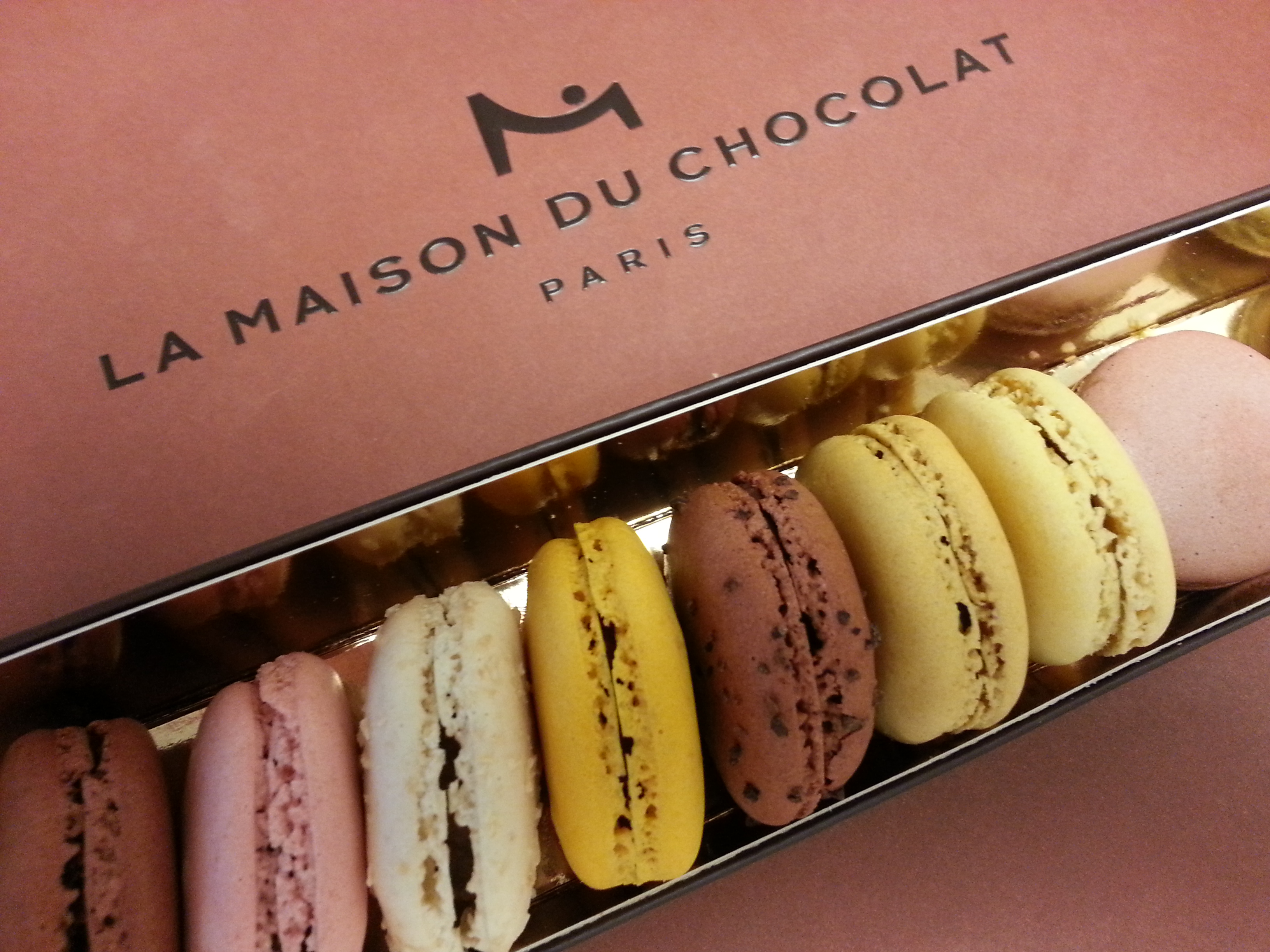 Diary of a perfectionist wannabe food travel photography for Macarons la maison du chocolat