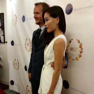 Sebastian Roche and Alicia Hannah.