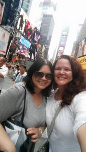 My high school friend came to NYC to visit me in July. We spent an entire week being tourists.