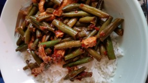 String Beans and Chicken