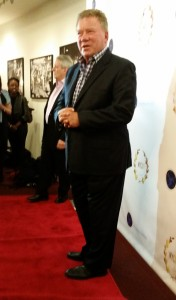 """William Shatner presented his film """"Chaos on the Bridge"""" at NYCIFF."""