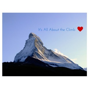 It's All About the Climb